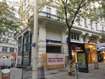 Estricharbeiten, 1060 Wien, Mariahilferstraße 27 Volksbank